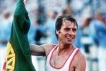 Carlos Lopes ganha a medalha de Ouro - 1984